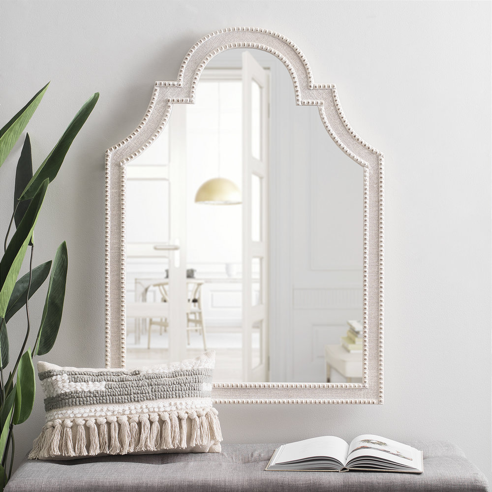"""""""I love the shape and detail of this mirror. Perfect for getting one last glance before you're out the door!"""""""