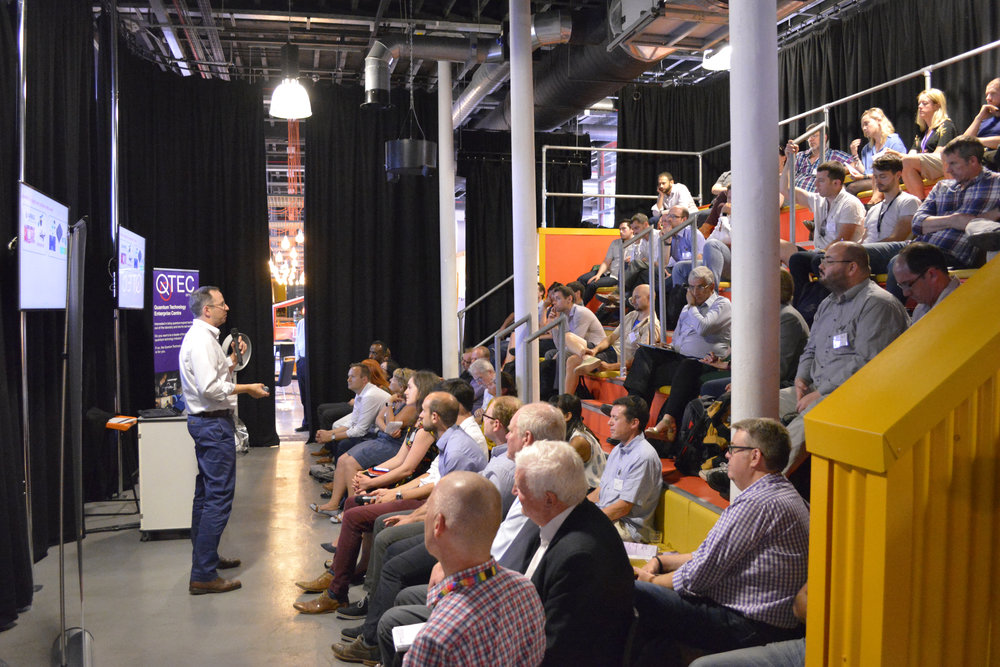 QTEC's Quantum Technology Showcase - Showcase @ EngineShed, Bristol, June 2018