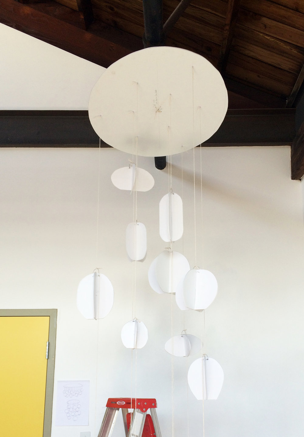 Foam Model of Chandelier