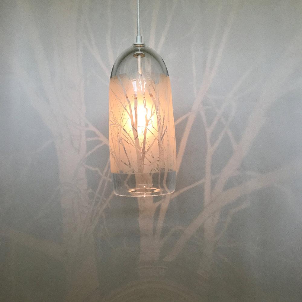 Daytime shot of the Tree Lantern