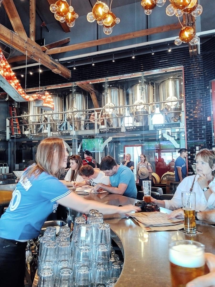 At amsterdam brewery