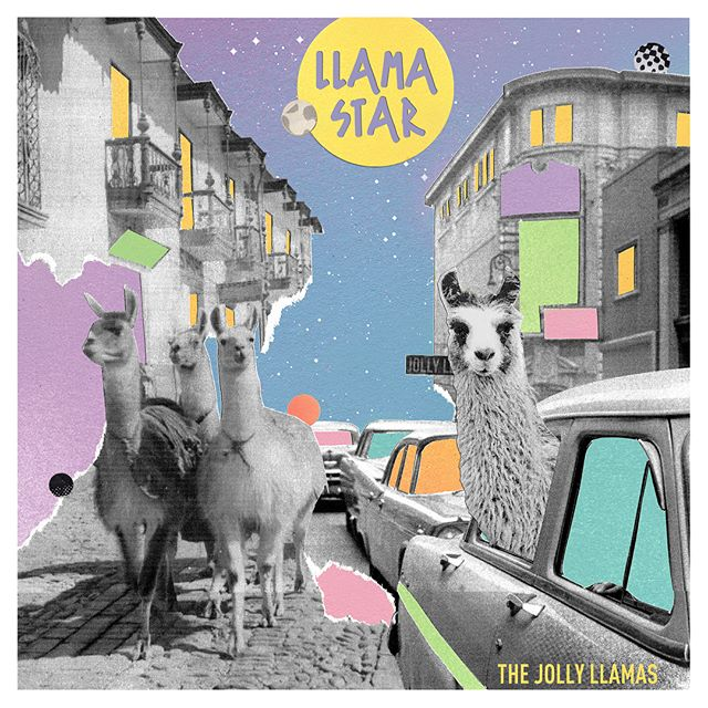 Llama Star is online! Link in our bio to listen now 🙌  Super thanks to @patrickbrede_musicproducer for all the hard work mixing and @xistheweapon for the awesome album art 🌟  #llama #llamas #newmusic #newmusicmonday #newmusicalert #rockmusic #powerpop #ep #release #thejollyllamas #santacruz #santacruzmusic #listensantacruz #🍀 #🤞