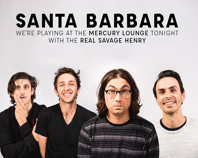 FREE SHOW in SB!  Thanks for that sweet sweet patience, our venue fell through last minute and the Mercury Lounge stepped up to accommodate us 🙏. We're so ready. #rockmusic #santabarbara #ucsantabarbara #liveshow #santabarbaramusic #islavista