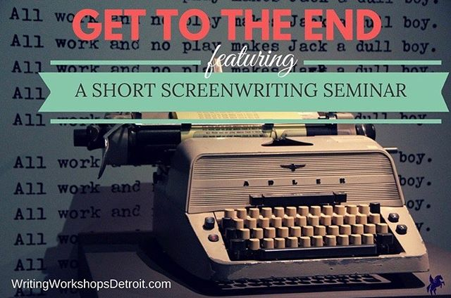 How To Get to THE END: A Short Screenwriting Seminar  Sunday, October 28, 2018 - 3:00PM TO 6:00PM  Many writers struggle to get to the end of their stories. Getting tripped up on Act 2 is a challenge that we have all faced. This intensive seminar focuses on completing a 5-page short in three hours rather than tackling a full length feature. You WILL finish your short. Meant for screenwriters who understand screenplay structure, we'll dive right into the frigid waters of quick-paced creativity. Each participant will be provided with 3 unique prompts:  A Character Quality An Object A Line of Dialogue With these prompts, we will: work together in a community brainstorm session; come up with a logline before you start writing in an effort to keep you on track; and let you loose to write your short! There is only one rule...you must complete your 5-page story within the two hour time limit! Let go of over thinking, let go of insecurity and write the most fun and free-thinking story ever!  At the end of 3 hours, attendees will share their loglines and email their shorts to the group and instructor. Peers are encouraged to give notes to each other after the seminar. Additionally, the instructor will provide full coverage on everyone's short within 2 weeks of the seminar. Take your story and run with it. You never know, this short could be the crux of your next feature!  Note: Students will need a Laptop, Screenwriting software (no worries if you don't have Final Draft, you can sign up for Celtx for free), Notepad, Pen/Pencil.  Instructor Toni Cunningham has worked as a script analyst for Meryl Streep's The Writers Lab and BlueCat Screenplay Competition.  She has also been a reader for Goldcrest Films Production Company, and Toni is a 2018 Kresge Arts in Detroit Fellow, awarded for her work in screenwriting.  Fee: $55 or $40 for former/current students  Toni Cunningham, Presenter Sunday, October 28, 2018 - 3:00PM to 6:00PM Seminar meets at Bamboo Detroit at 420 Washington Blvd #301, Detroit, MI 48226  Register here: https://www.writingworkshopsdetroit.com/all-classes/  #literarydetroit #writingworkshopsdetroit #film #screenwriting
