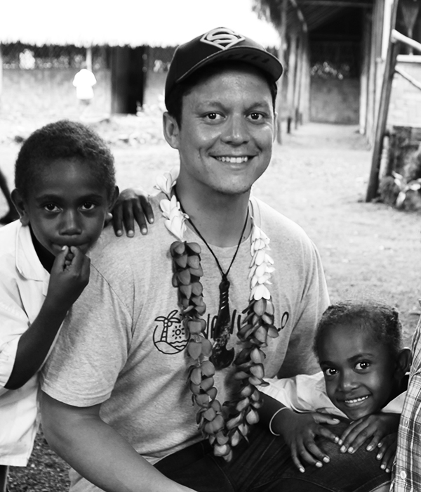 RUSSELL GAULD  SolarBuddy Program Coordinator - Melbourne    Russell is a social entrepreneur bringing sustainable practices to the villages of Vanuatu. He is passionate about expanding people's hearts and minds to take action in service of others. He loves interacting with people and exploring different cultures.