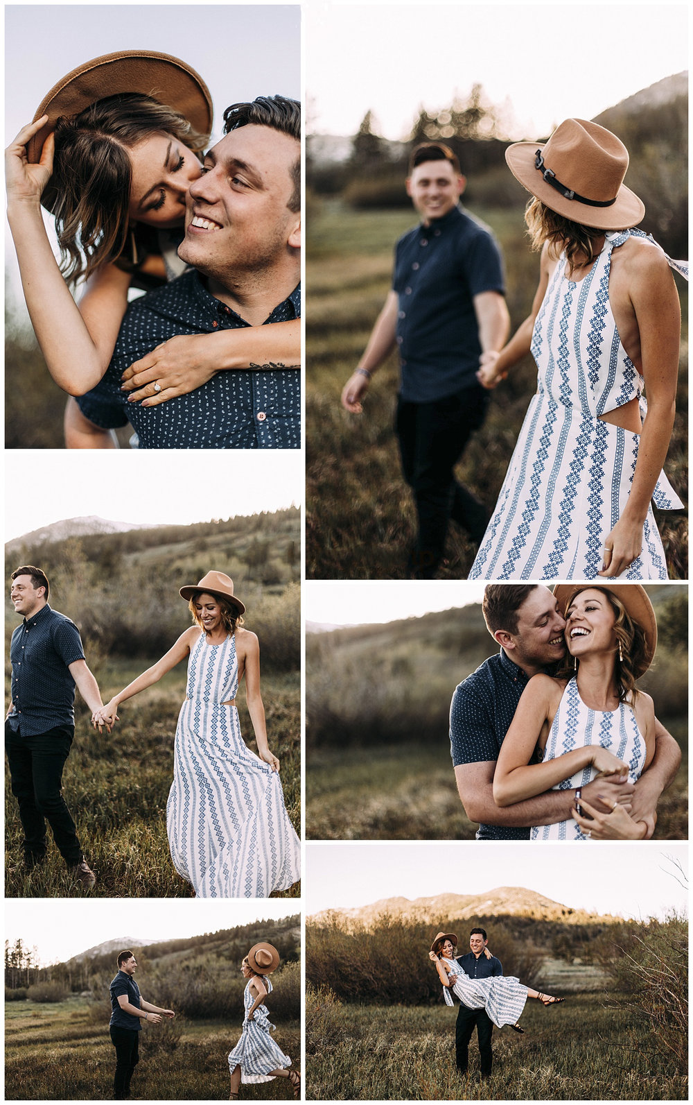 Ashey + Jake Couples Session | Lake Tahoe, NV