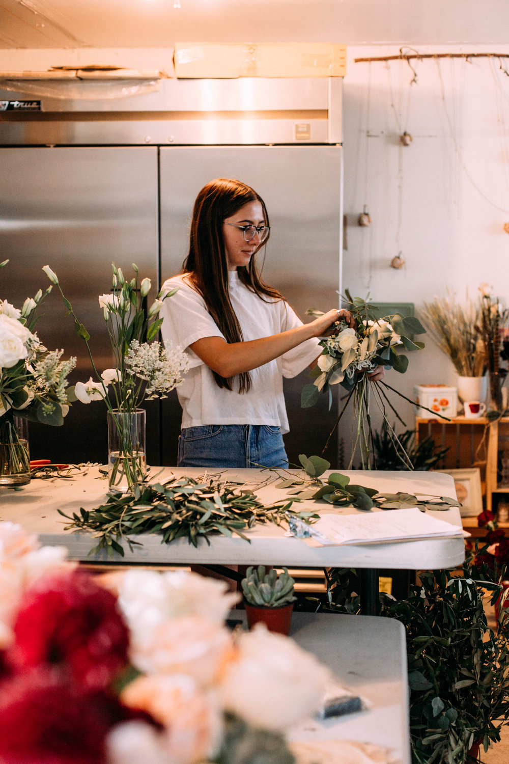 Flower Work Day | with Helianthus Floral