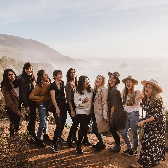 These women right here are the reason we started Gather + Getaway.  Because we win by supporting and empowering one another... Because we live best when we work together... Because we are strong as individuals but even stronger as a community. The journey is best when shared 💛 today we celebrate all women and work to lift those who are bravely forging their own paths. #iwd2019 #womensupportingwomen #gathergetaway