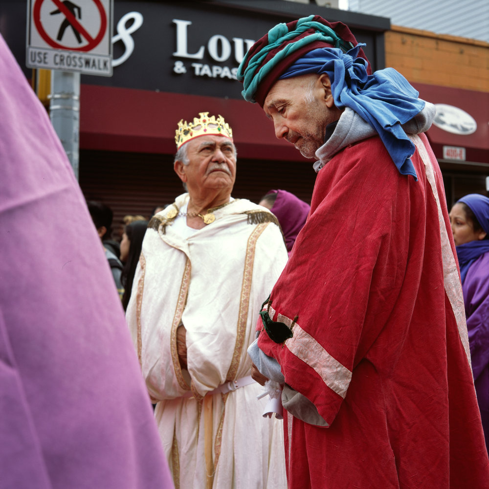 Good Friday procession, The Bronx, 2014