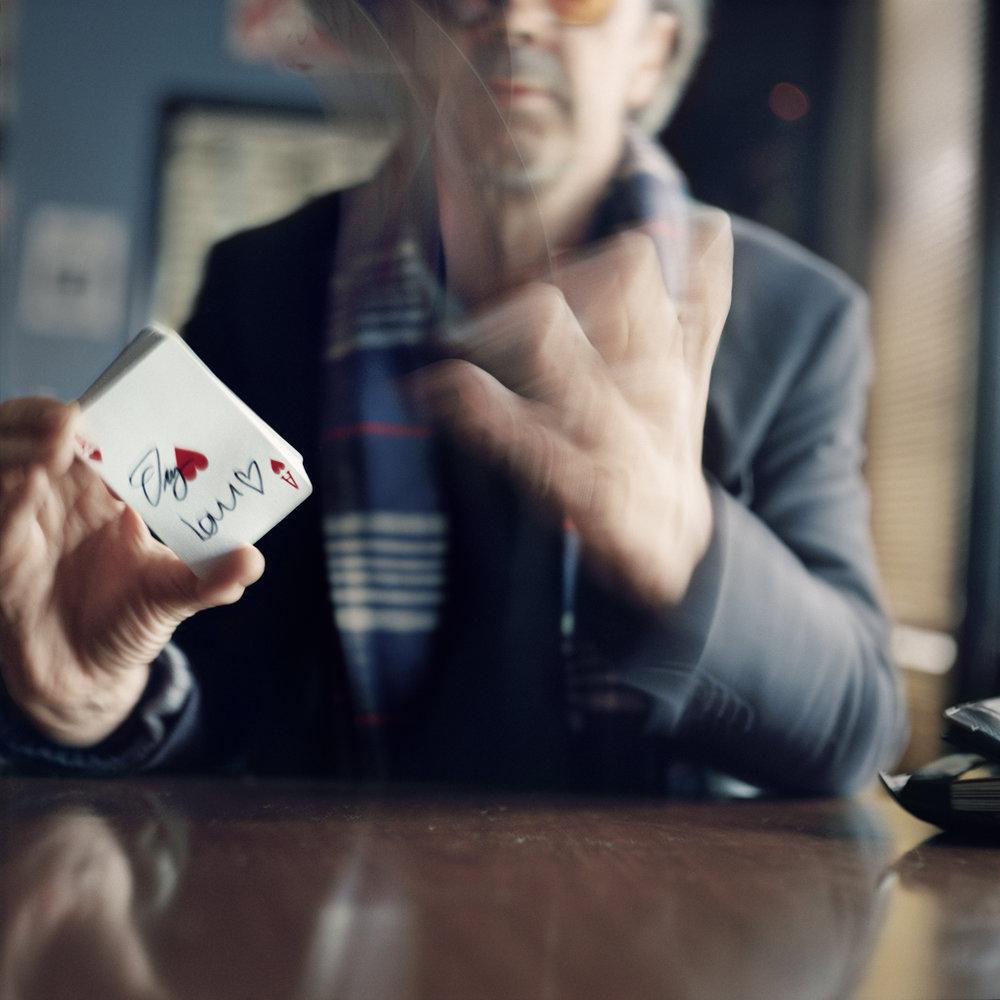 Simon Lovell, Ex-Con Man & Card Shuffler, 2014