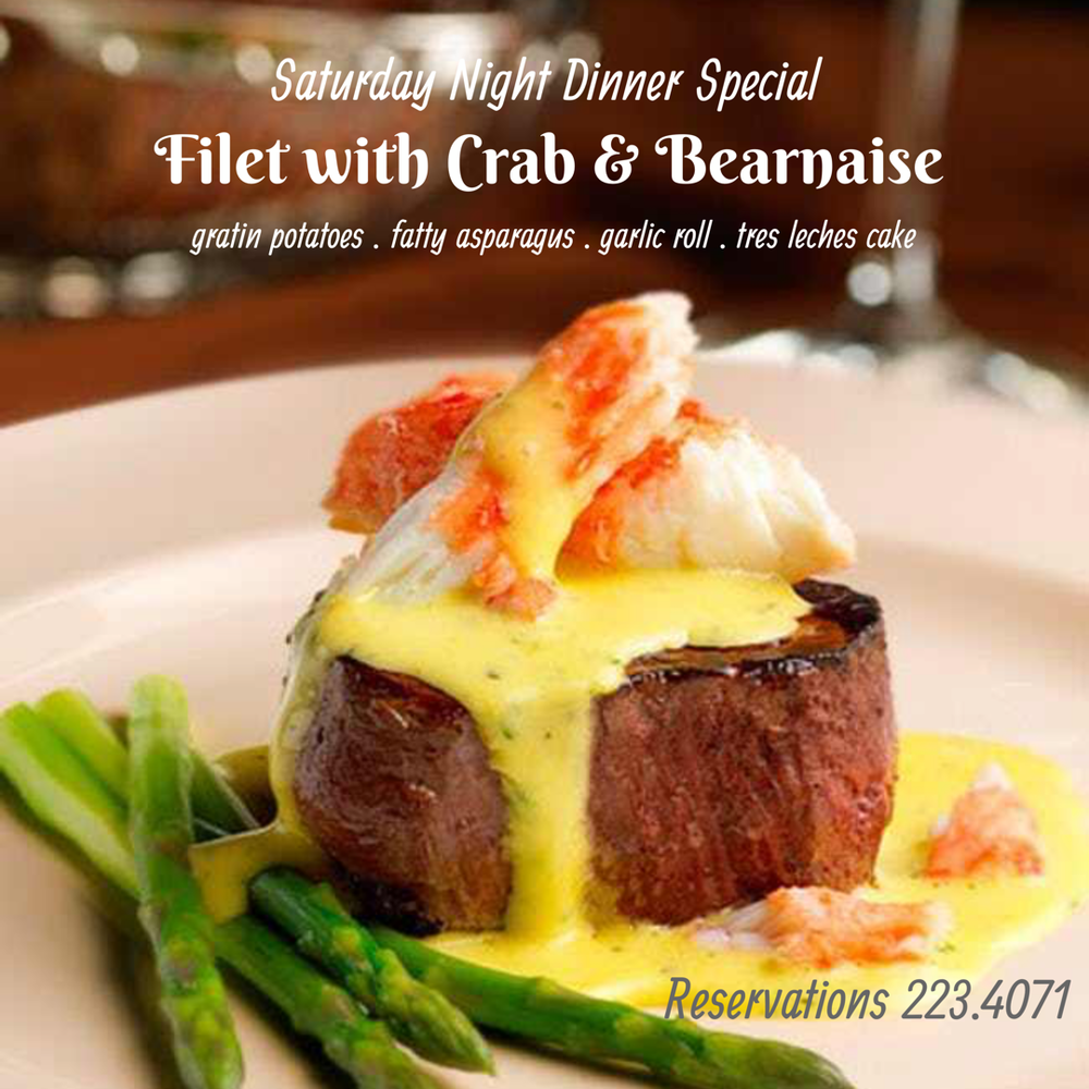 Filet with Crab & Bearnaise