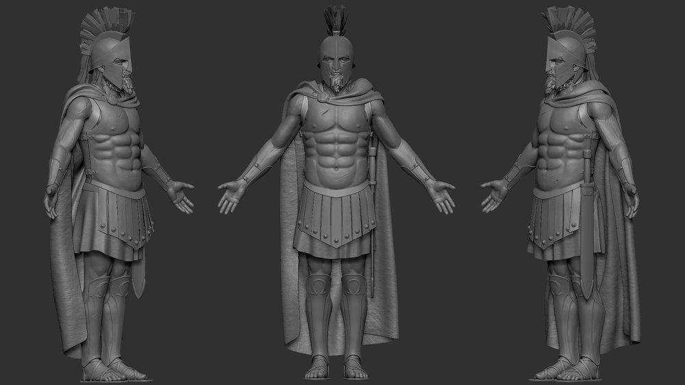 Melvin Okoronkwo - 3D Model - Spartan Hoplite (20).jpg