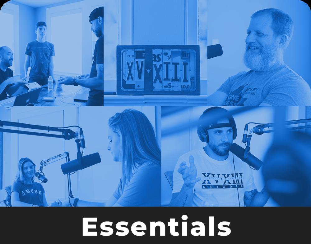$300 / per Episode - 1 Hour of Studio TimeRaw Audio FilesIn-Studio Audio EngineerIntro/Outro EditingIn-Studio PhotographerShared Folder for Edited Photos