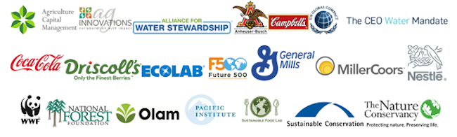 California Water Action Collaborative member logos