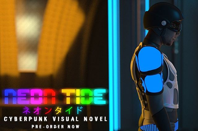 Excited to share that I've been cast as the voices of two characters in an upcoming cyberpunk visual novel #NeonTide by @skyridestudios!  Play a demo version of the game and support this project at the link in my profile. Can't wait to get back in the studio.  #vo #voiceover #actor #voiceacting #voiceoveractor #game