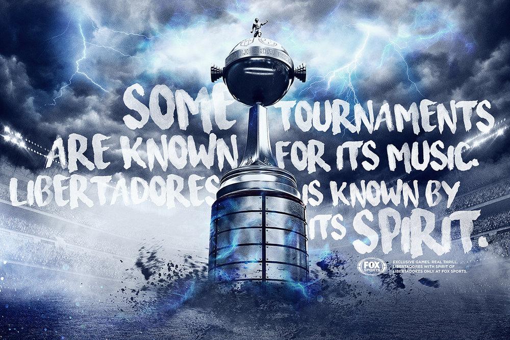 Alguns torneios são conhecidos pela música. A Libertadores, pelo seu espírito.