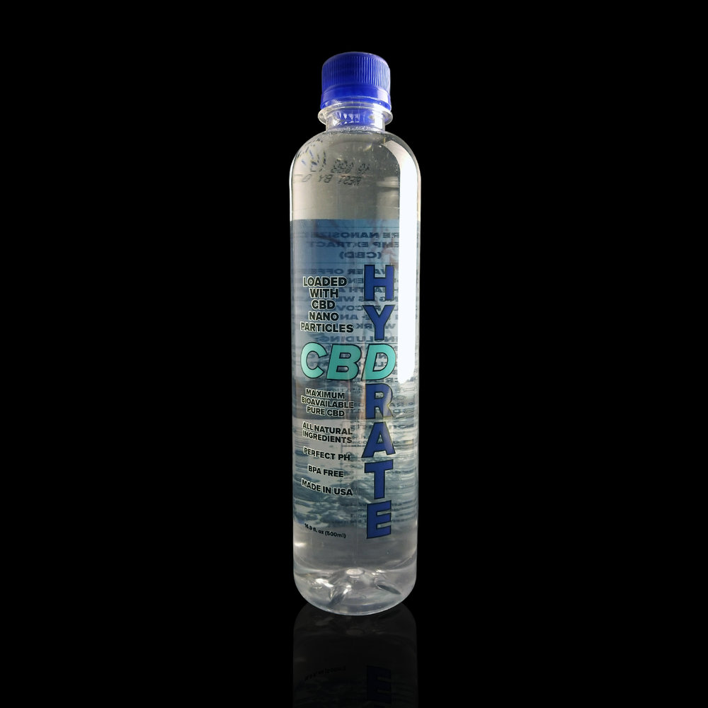 CBD HYDRATE  – CBD Infused Water