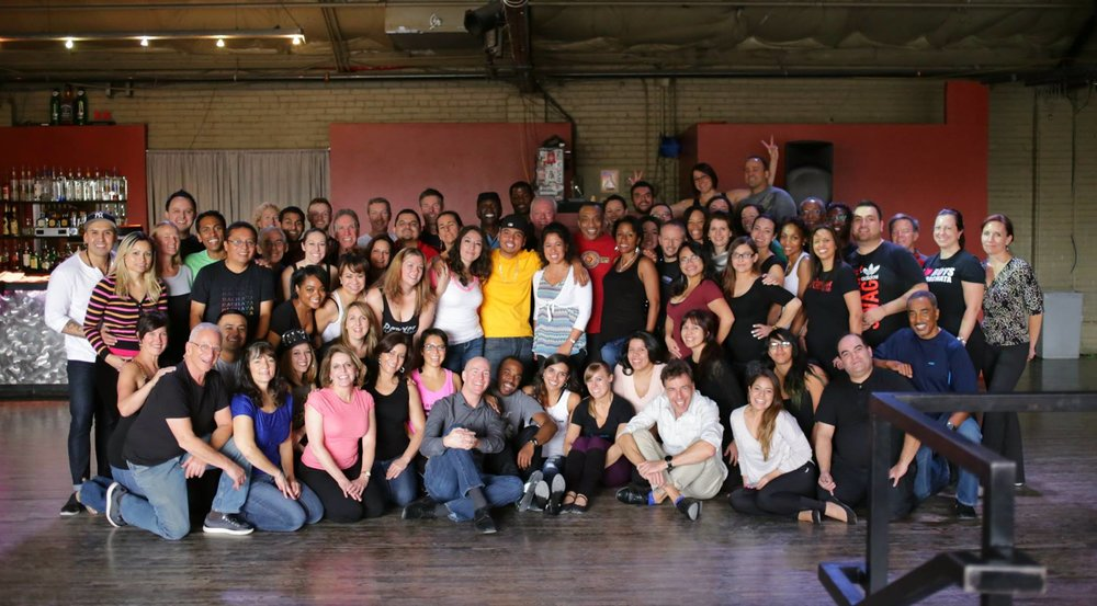Bachata workshop at La Rumba in Denver, Colorado