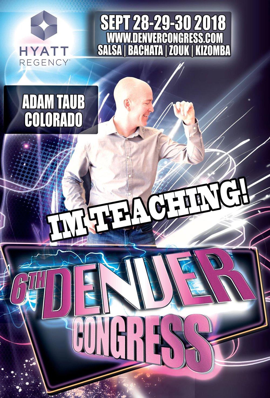 Adam Taub Denver Salsa & Bachata Congress