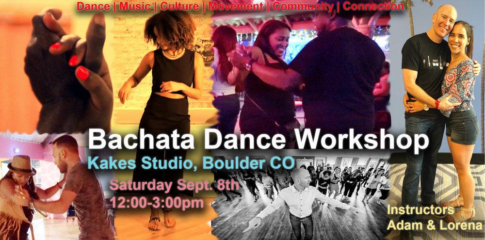 Boulder Bachata Workshop with Adam Taub & Lorena