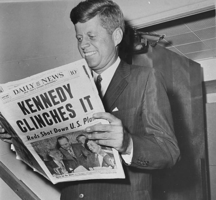 """Things do not happen. Things are made to happen."" -John F. Kennedy"