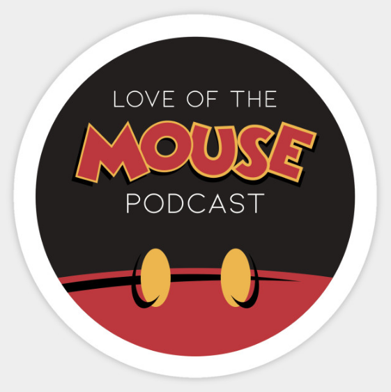 Love of the Mouse Podcast Logo Sticker ($2.50)