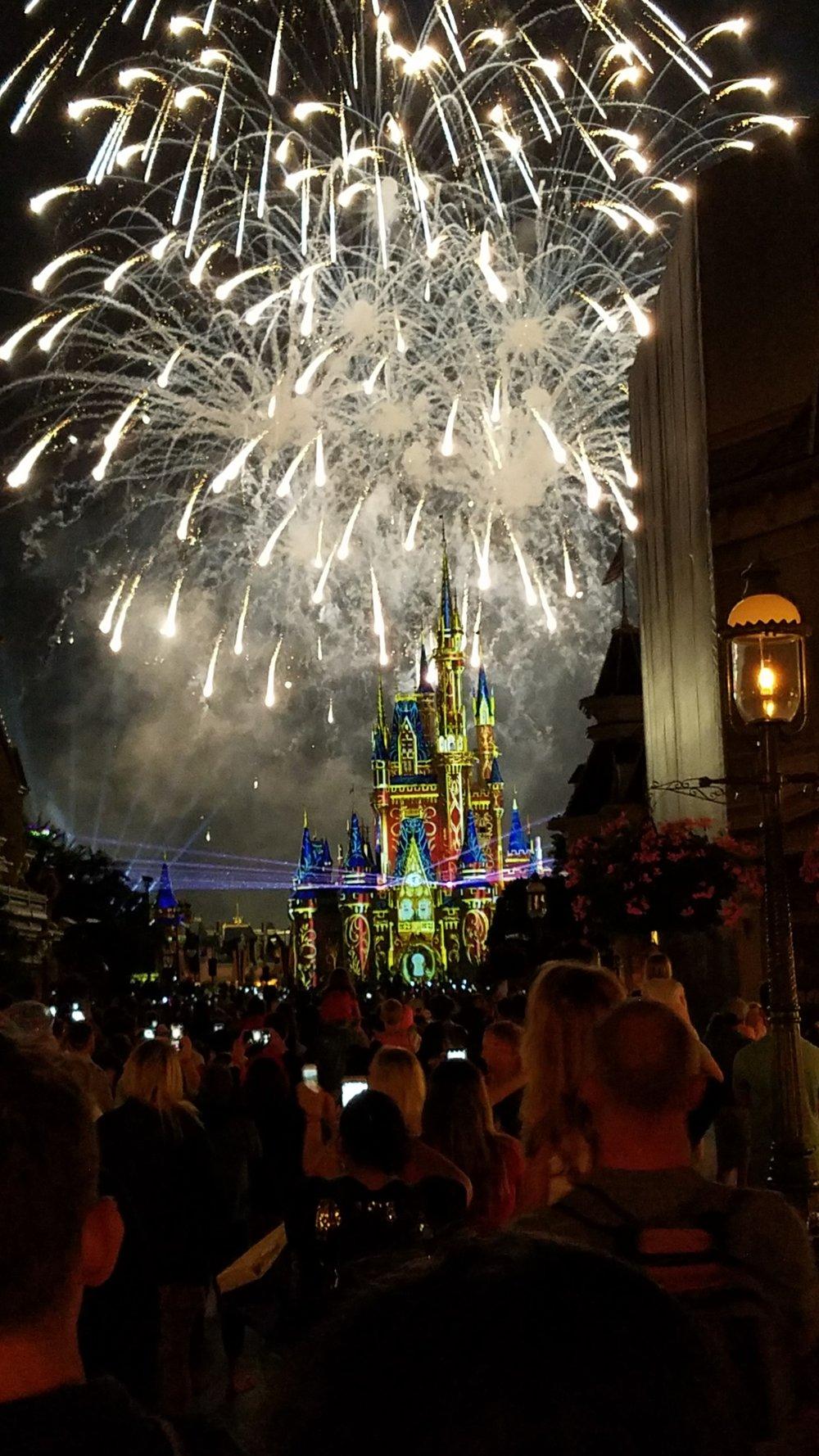 """Happily Ever After"" nighttime spectacular at Magic Kingdom in Walt Disney World. Photo Credit:Kari Fello/Jon Fisher"