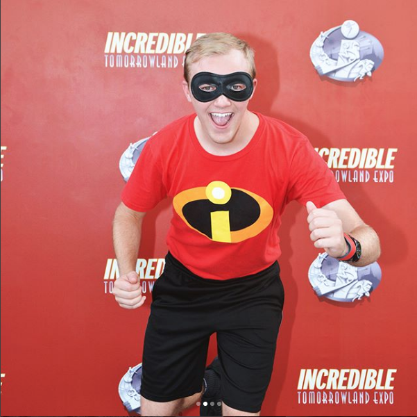 Gage was able to see the movie on opening night (6/14/2018) in Disney Springs.