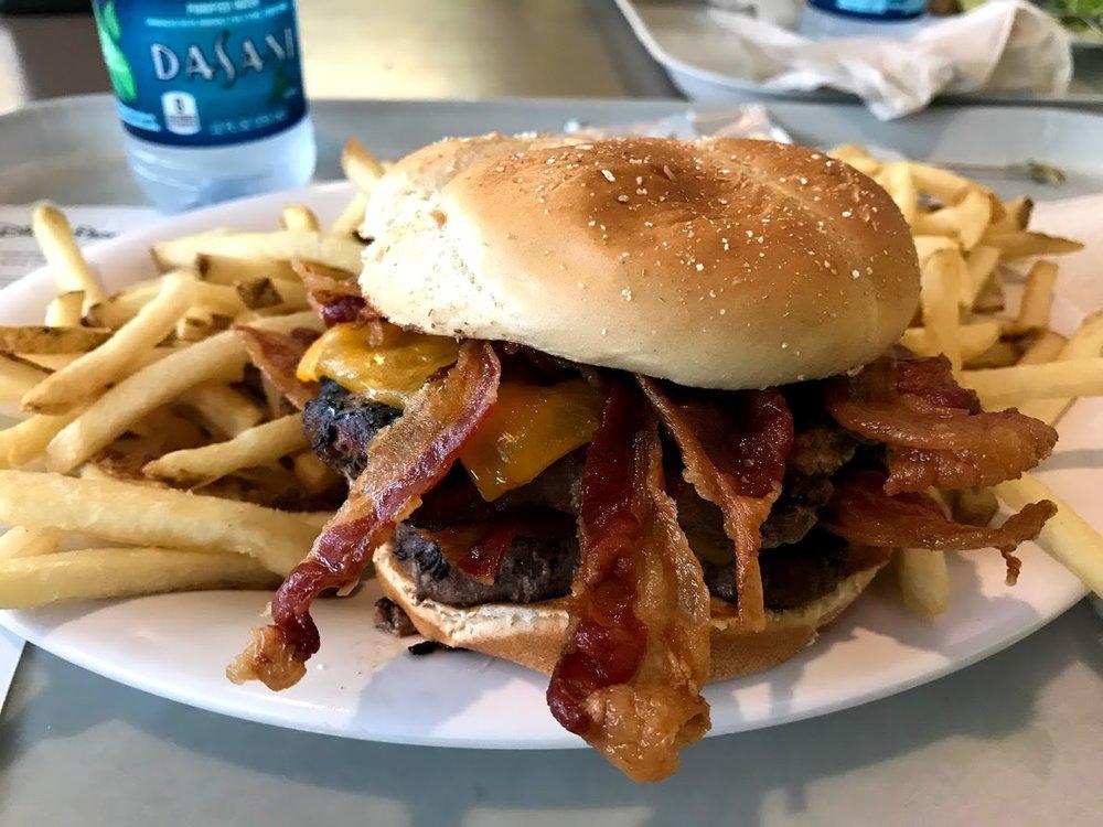 Double Angus Bacon Cheeseburger