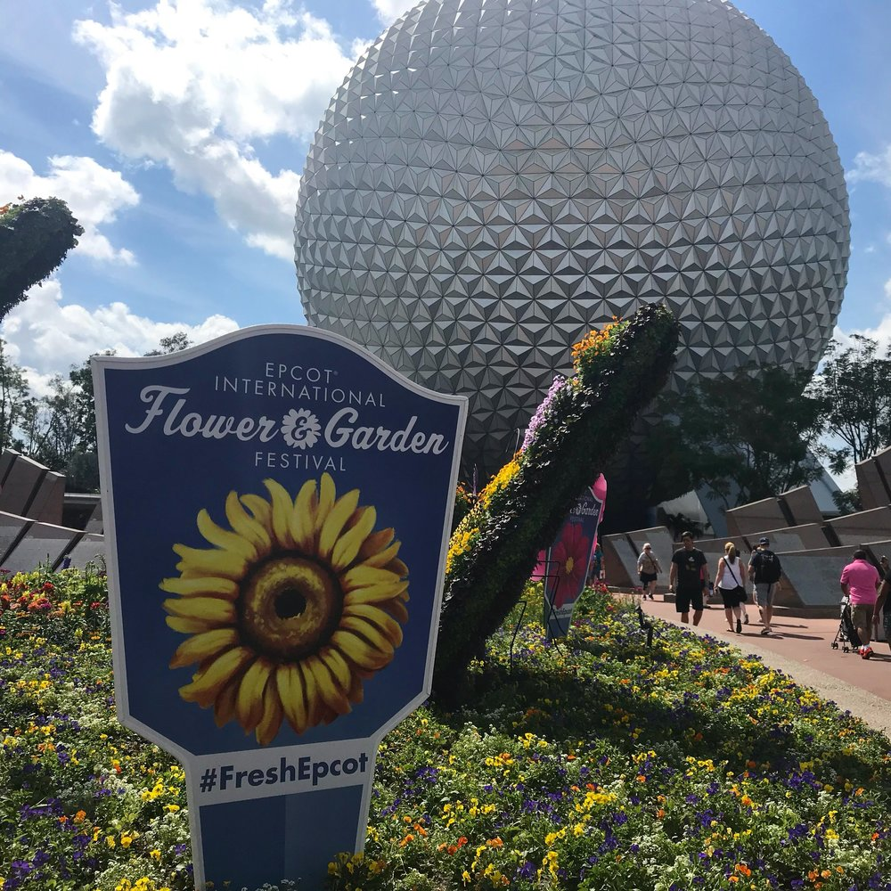 Epcot welcomes you to the 2019 International Flower and Garden Festival.