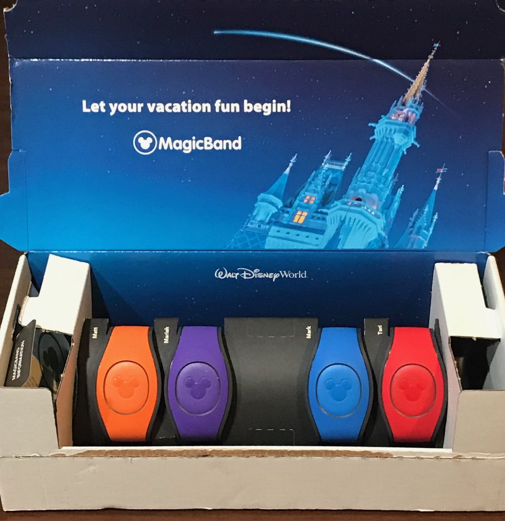 It is so tough committing to one Magic Band color for an entire trip, and this time I chose to rock the orange!