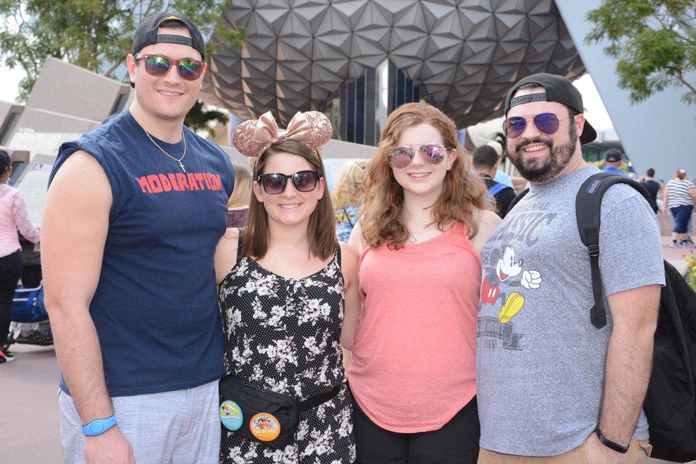 From left to right: Mark, Mariah, Tori, Matt