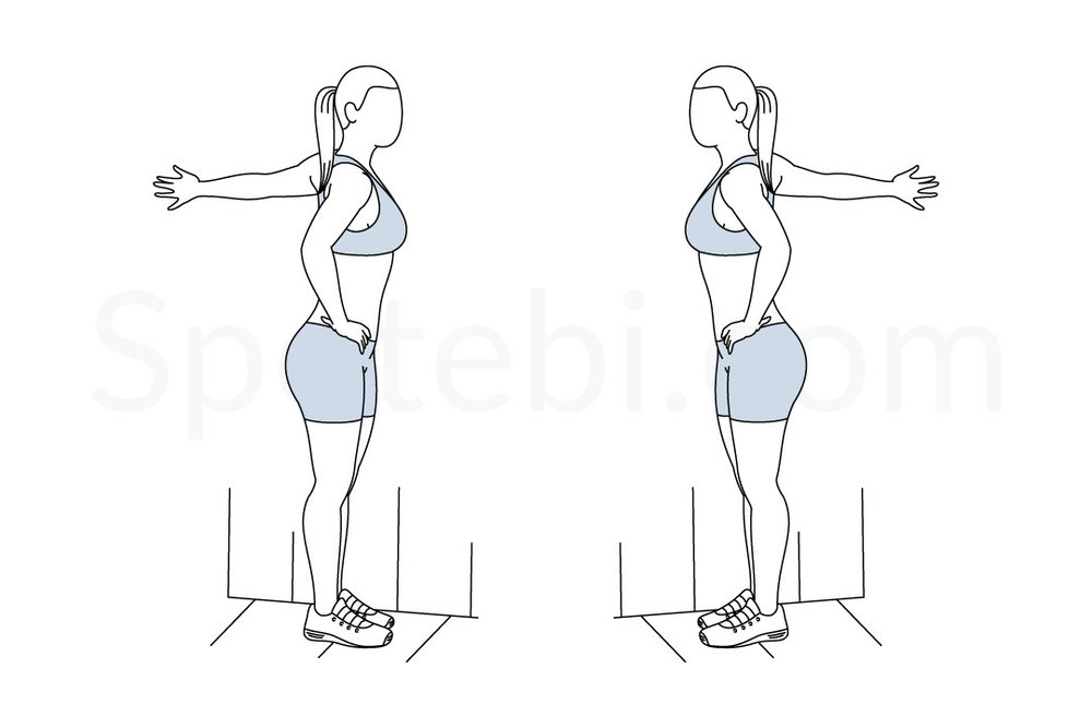Wall Chest Stetch -