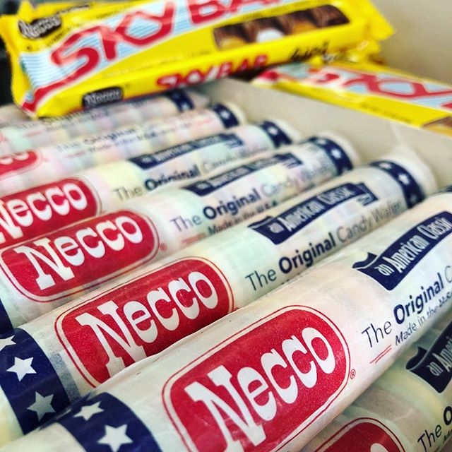 Come and get them while you still can! #necco #goingoutofbusiness #wegotyou #thecandycorner #lifeisshorteatcandy