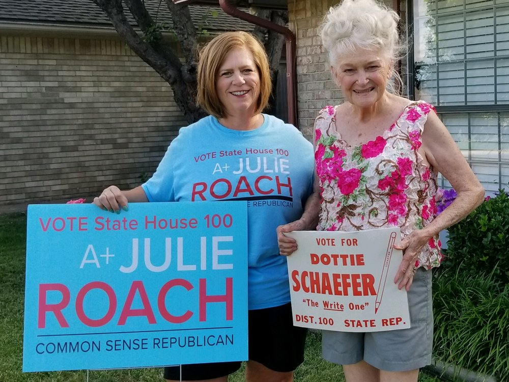 One of my constituents ran for District Seat 100 in the 1980s!