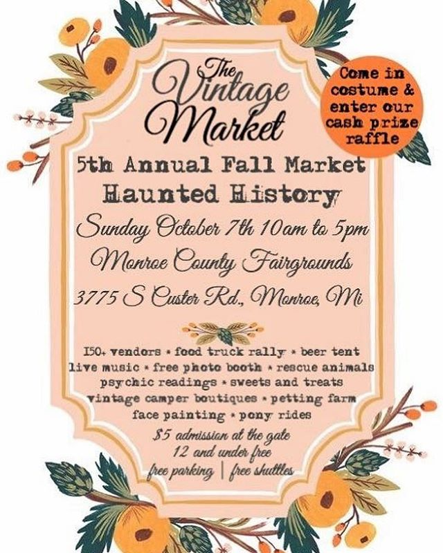This Sunday! @the_vintage_market  Posting up at the MoCo Fairgrounds!! ☕️ and 🍋  P.S. It's worth coming just to get some brussel sprouts from @kitchenbrass to have with your lemonade 😋😋😋