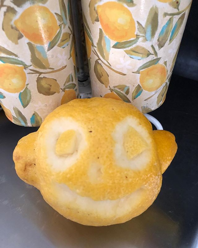 Happy Lemoneen! Come see us in one of two places today (or both places)! The Lemonade Stand is at @finderskeepersvintagemarket in Belleville. Cabin Seven is in Tecumseh, on Ottawa for the Appleumpkin Festival.