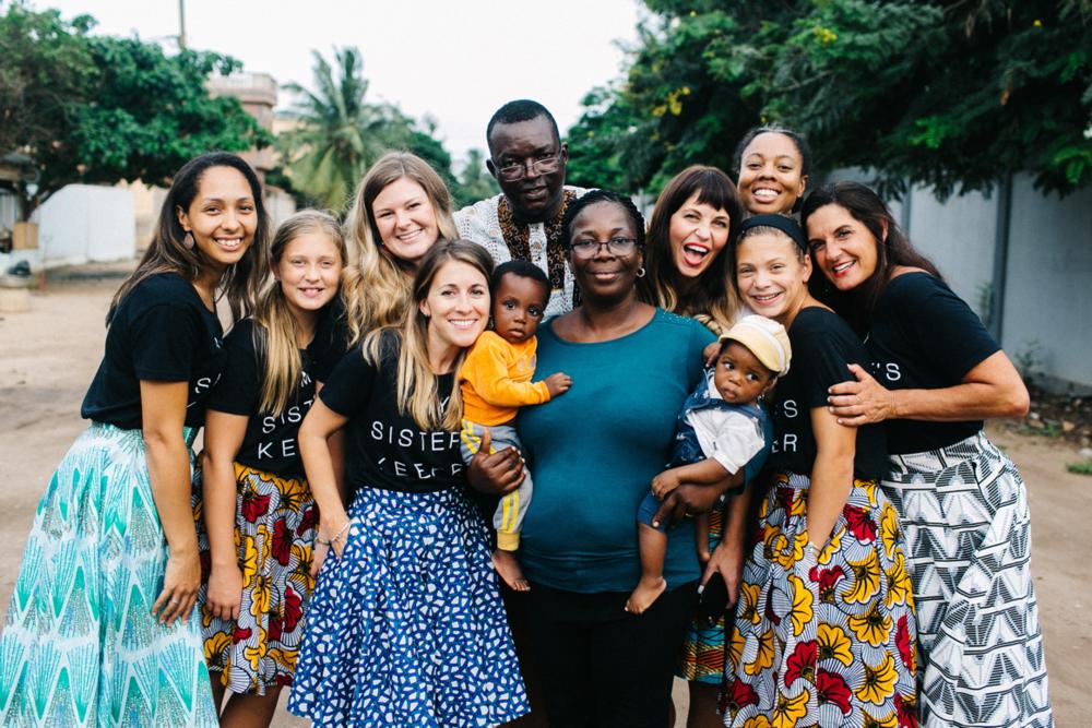 Francis + Benedict in Togo
