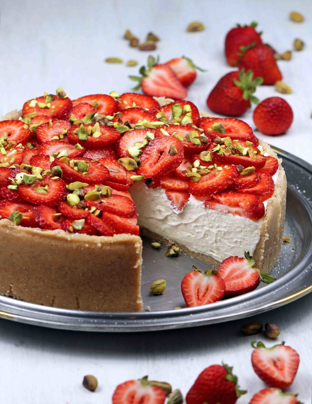 KETO NO-BAKE CHEESECAKE