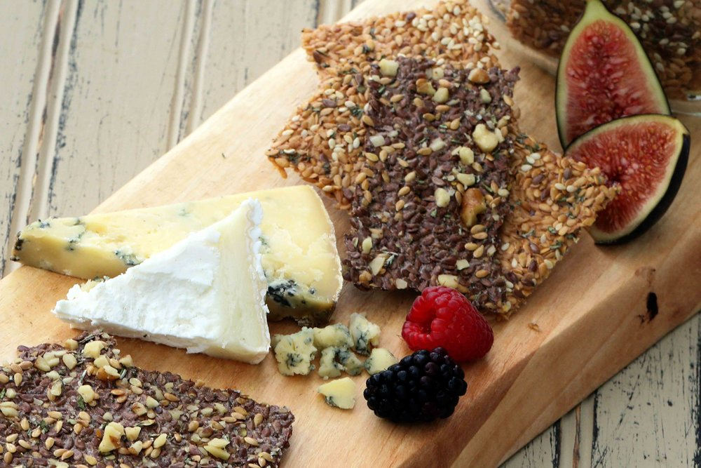 LOW CARB KETO SUNDRIED TOMATO FLASEED CRACKERS AND WALNUT FLAXSEED CRACKERS RECIPE.jpg