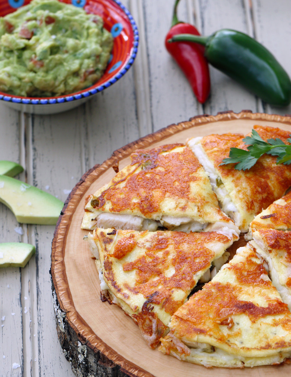 HOT FILLED QUESADILLAS