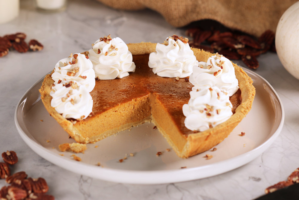 BEST EVER LOW CARB KETO PUMPKIN PIE RECIPE