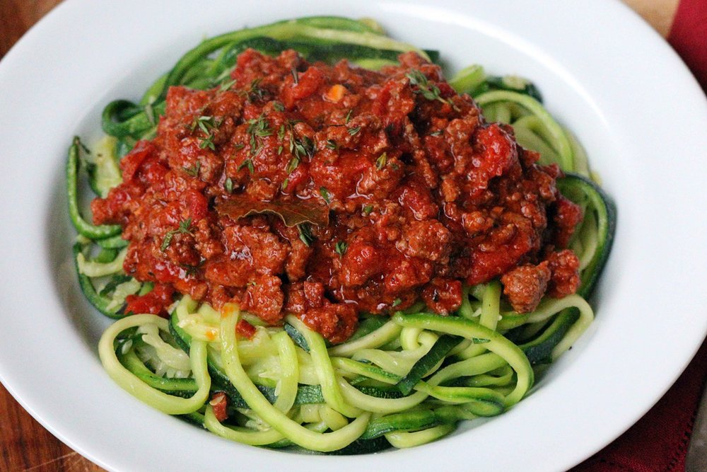 BEST LOW CARB KETO CREAMY BOLOGNESE WITH ZUCCHINI PASTA NOODLES RECIPE.jpg