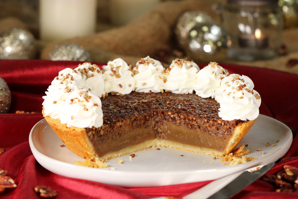 LOW-CARB PECAN PIE