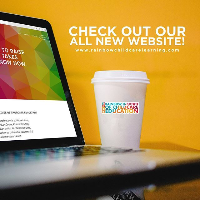 Guess what? Our rebranded sight is up and launched- check it out and let us know what you think!  Rainbowchildcarelearning.com  #education #child #institute #facebooklive #show #knowledge #power #experience #follow #followforfollow #share  #standup #webinar #comingsoon