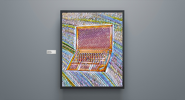 click to play - THINKPAD is in the moma