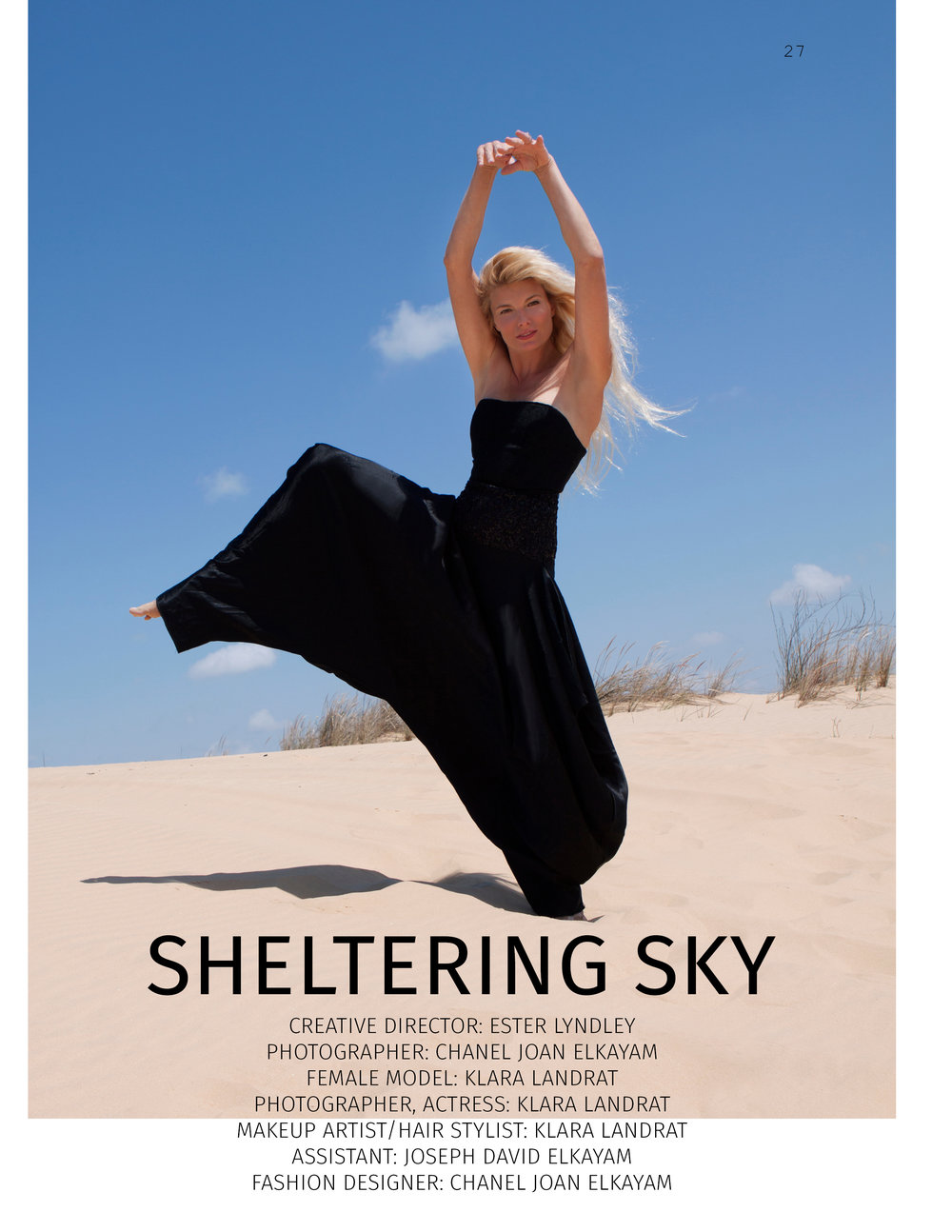 SHUBA Magazine, NYC. Editorial.