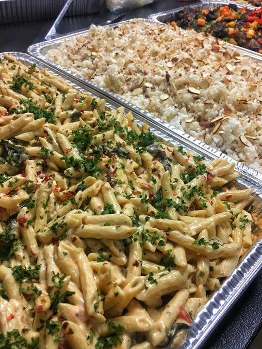 Pasta And Cocunut Rice.jpg