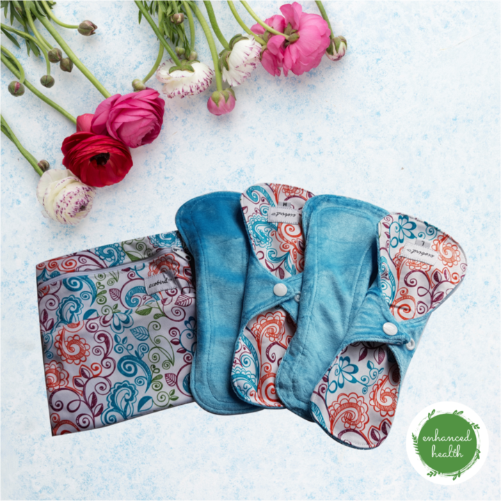 Reusable cloth pads from Enhanced Health NZ