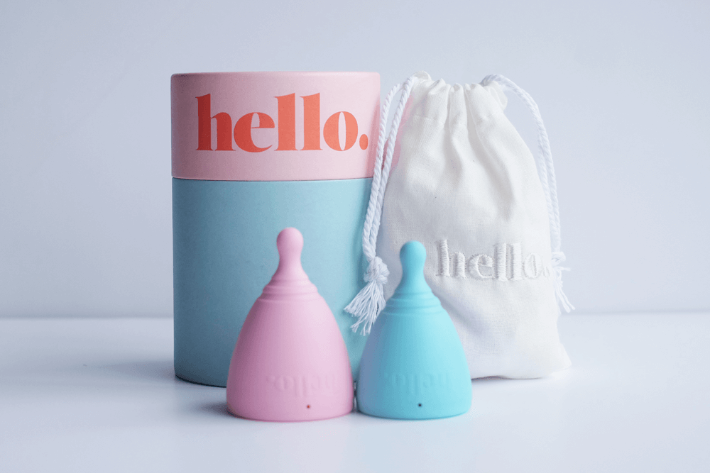 Menstrual cup from Hello Cup